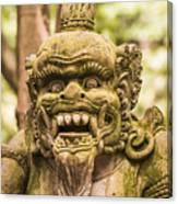 Bali Sculpture Canvas Print