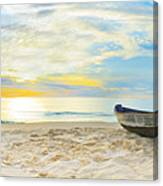 Beach Panorama Canvas Print