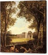 Boddington Henry John A View Of Norton Hall Henry John Boddington Canvas Print