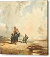 Coste Della Crimee Canvas Print
