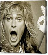 David Lee Roth Collection Canvas Print