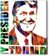 Donald Trump 2016 Presidential Candidate Canvas Print