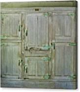 6 Doors Canvas Print
