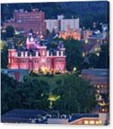 Downtown Morgantown And West Virginia University Canvas Print