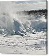 Frozen Niagara Falls Canvas Print