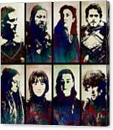 Game Of Thrones. House Stark. Canvas Print