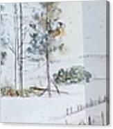 Idaho Landscape Book Canvas Print
