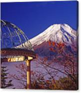 Mount Fuji In Autumn Canvas Print