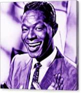 Nat King Cole Collection Canvas Print