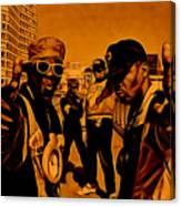 Public Enemy Collection Canvas Print