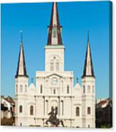 Saint Louis Cathedral Canvas Print