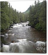 Sainte-anne River, Quebec Canvas Print