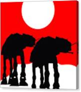 Star Wars At-at Collection Canvas Print