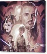 Star Wars Characters Poster Canvas Print