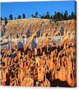 Sunset Point In Bryce Canyon Canvas Print