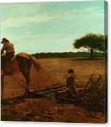 The Brush Harrow Canvas Print
