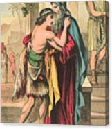 The Return Of The Prodigal Son Canvas Print