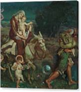 The Triumph Of The Innocents Canvas Print