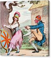 Thomas Paine (1737-1809) Canvas Print