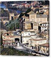 Toledo Spain Canvas Print