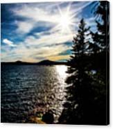 Waldo Lake Canvas Print