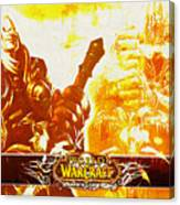 World Of Warcraft Canvas Print