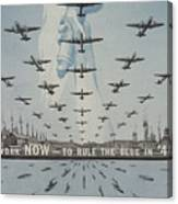World War II Advertisement Canvas Print
