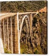 605 Det  Big Sur Bridge 2 Canvas Print