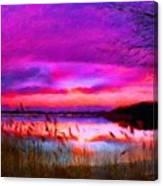 Landscape On Nature Canvas Print