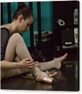 6271 Toe Shoes - Alexa  Canvas Print