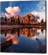 G H Landscape Canvas Print