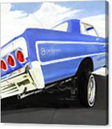 64 Impala Lowrider Canvas Print