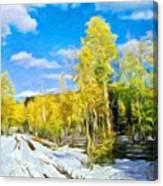 Landscape Paintings Canvas Prints Nature Art  Canvas Print