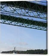 The New Tacoma Narrows Bridge Canvas Print