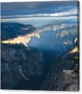 R F Landscape Canvas Print