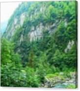 Nature Oil Painting Landscape Images Canvas Print