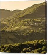 Sunny Transcarpathia Canvas Print