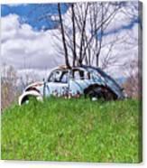 67 Volkswagen Beetle Canvas Print