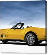 '69 Corvette Sting Ray Canvas Print
