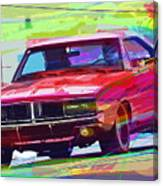 69 Dodge Charger  Canvas Print