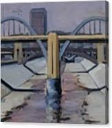 6th Street Bridge Canvas Print