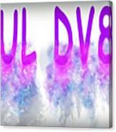6ul Dv8 Canvas Print
