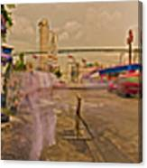6x1 Philippines Number 260 Hospital Panorama Canvas Print