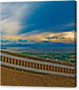 6x1 Philippines Number 413 Panorama Tagaytay Canvas Print