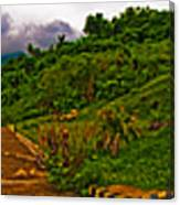6x1 Philippines Number 470 Panorama Tagaytay Canvas Print