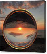 7-26-16--4577 Don't Drop The Crystal Ball, Crystal Ball Photography Canvas Print