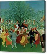 A Centennial Of Independence Canvas Print