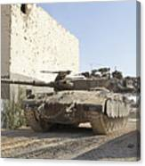 An Israel Defense Force Merkava Mark II Canvas Print