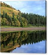 Autumn Derwent Reservoir Derbyshire Peak District Canvas Print