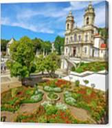Braga Sanctuary Portugal Canvas Print
